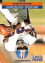 1991 Pro Set Spanish Football #59 Mark Jackson Denver Broncos