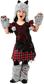 Princess Paradise Wicked Werewolf Girl's Costume