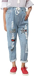 HAUTEMODA Women's Relaxed Fit Jeans