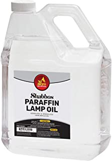1 Gallon Paraffin Lamp Oil - Clear Smokeless, Odorless, Clean Burning Fuel for Indoor and Outdoor Use - Shabbos Lamp Oil, ...