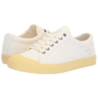 Gola Tiebreak Candy (Off-White/Pastel Yellow) Women