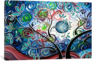 iCanvasART MDN59 Can't Wait for Spring I by Megan Duncanson Canvas Print, 26 by 18-Inch, 0.75-Inch Deep