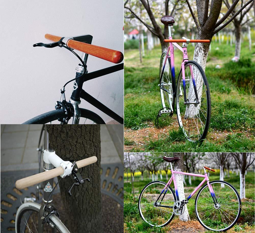 Bicicleta Manillar de Madera, 25.4 mm Calidad de Alta Resistencia ...