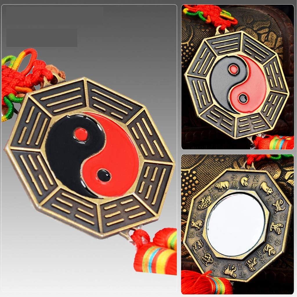 Bombing free shipping XuYuanjiaShop Bagua Mirror Lucky Chinese Ba Dent Soldering FengShui Convex