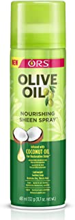 olive oil hair sheen