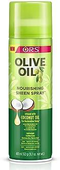 Olive Oil Ors Nourishing Sheen Spray, 11.7 oz (Pack of 2)