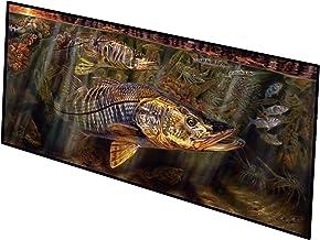 Caroline's Treasures Grove Garden Snook Indoor or Outdoor Runner Mat 28x58 doormats, Multicolor