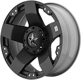 XD Series by KMC Wheels XD775 Rockstar Matte Black Wheel (17x8