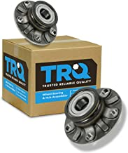TRQ Rear Wheel Hub & Bearing LH & RH Pair Set for Audi Golf GTI Rabbit A3 VW