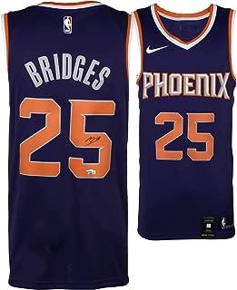 Mikal Bridges Phoenix Suns Autographed Nike Purple Swingman Jersey - Fanatics Authentic Certified - Autographed NBA Jerseys