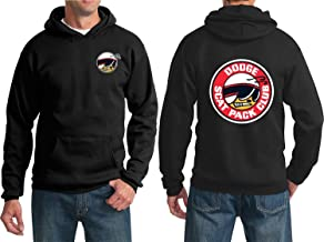 Dodge SCAT Pack Club Hoodie Super BEE Charger RT CAR Sweatshirt (Front and Back)