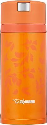 象印 ( ZOJIRUSHI ) 水筒 ステンレスマグ 360ml ビビッドオレンジ クイックオープン&イージーロック SM-XC36-DV