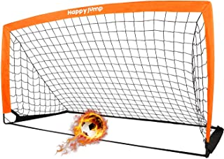 Happy Jump Soccer Goal Soccer Net for Kids Backyard 6'6