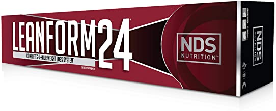 NDS Nutrition LeanForm24 Complete Diet Kit Weight Loss - Decrease Appetite and Energy Booster - L-Carnitine and CLA (Inten...