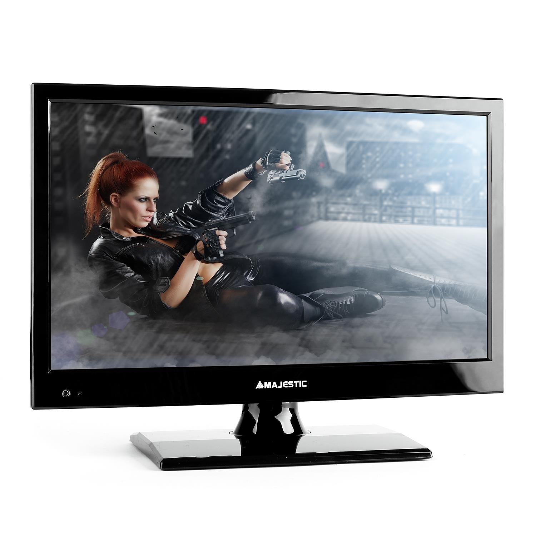 New Majestic TVD-215 LED BK - Televisor (396.2 mm (15.6