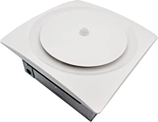 Aero Pure VSF110DCMH-S W Continuous Run Multi-Speed Bath/Laundry Room Fan with Motion and Humidity Sensor- White,