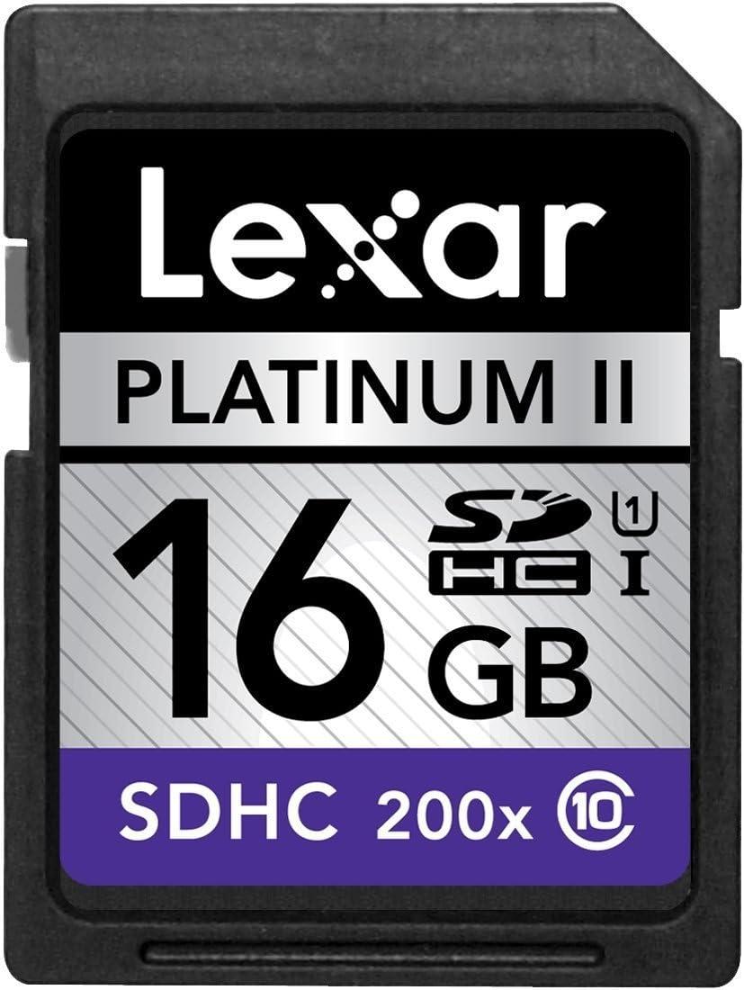 LEXAR MEDIA 16GB Platinum II 200x SDHC Memory Card