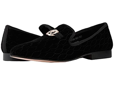 Stacy Adams Valet Velour Slip-On Loafer (Black) Men