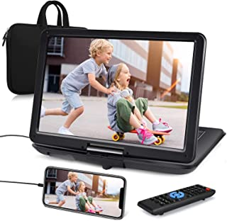 """NAVISKAUTO 16"""" Portable DVD Player with Large Screen Carrying Bag Support HDMI Input 1080P MP4 Video Sync Screen Last Memo..."""