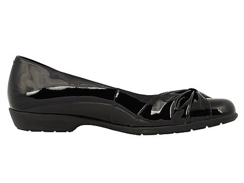Cunas Patente Negro De Fabricnavy De Leathertobacco Tramo Caminando Cuero Caen Leatherblack 0qT0rH