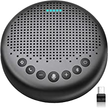 Bluetooth Speakerphone – Luna Updated AI Noise Reduction Algorithm Featured, Daisy Chain, USB Conference Speaker Phone w/D...