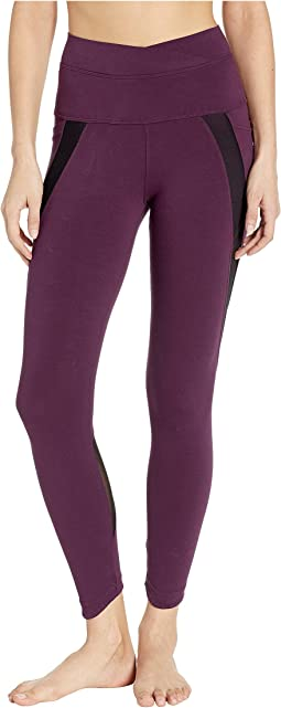 Crossover Waist Duo Pocket 7/8 Leggings