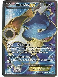 Blastoise Ex Full Art 142/146 Xy Pokemon Card