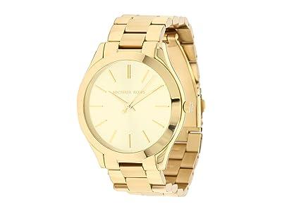 Michael Kors MK3179 Slim Runway (Gold) Watches