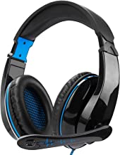 Gaming Headset for Xbox One,PS4, Nintendo Switch, PC, Mac, Laptop, Over Ear Headphones PS4 Headset Xbox One Headset with Surround Sound& Noise Canceling Microphone