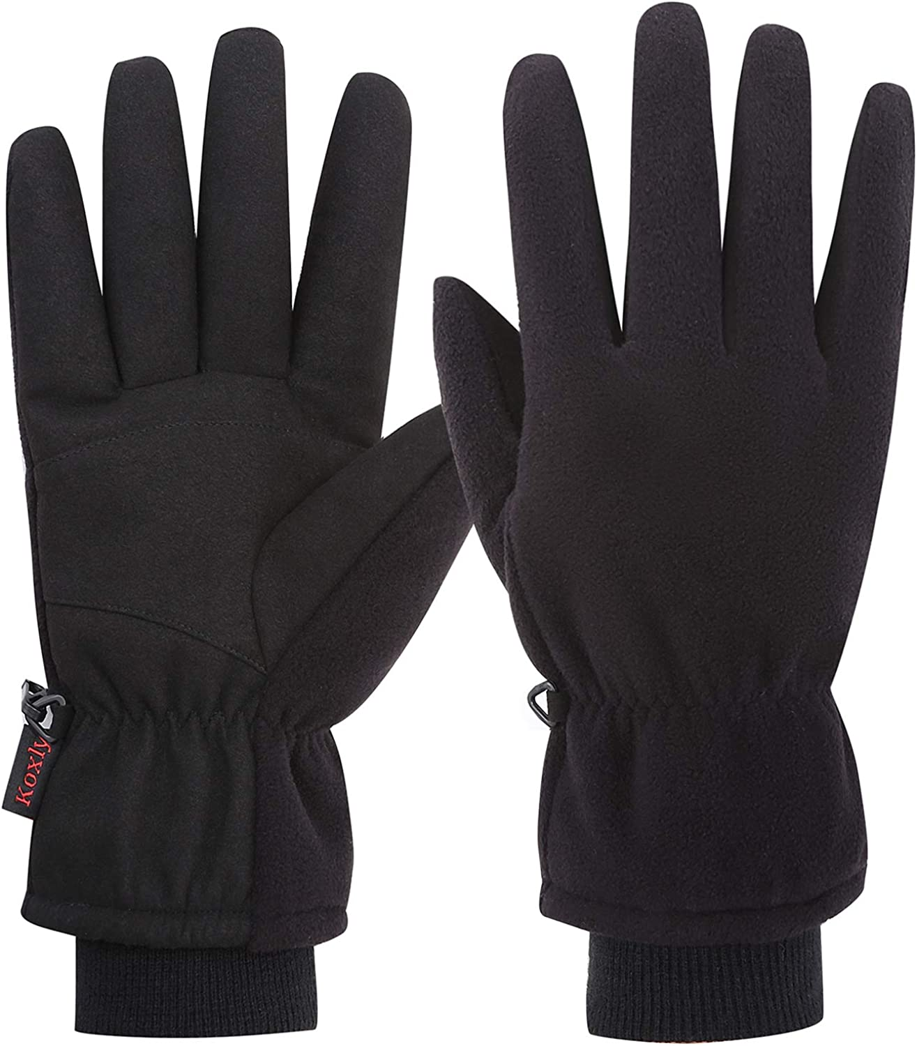 Koxly Winter Gloves Waterproof Windproof Insulated Warm Gifts Cycling Running Work Cold Weather for Men Women Mens Womens