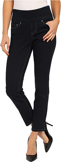 Amelia Pull-On Slim Ankle Comfort Denim in After Midnight