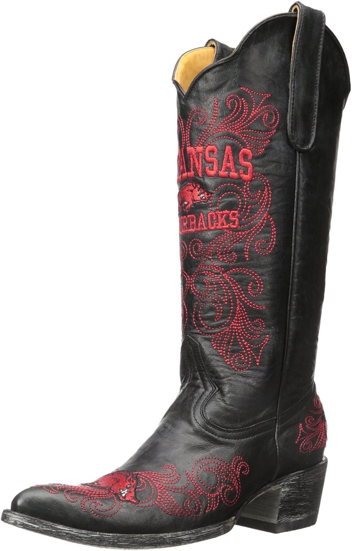 NCAA Arkansas Razorbacks Women's 13-Inch Gameday Boots