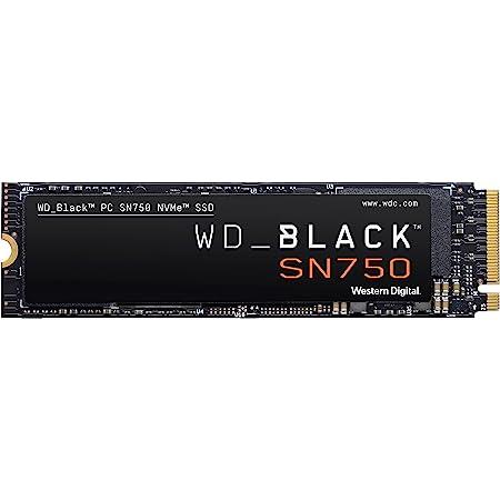 WD_BLACK 500GB SN750 NVMe Internal Gaming SSD Solid State Drive - Gen3 PCIe, M.2 2280, 3D NAND, Up to 3,430 MB/s - WDS500G3X0C