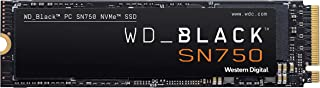 WD_BLACK 250GB SN750 NVMe Internal Gaming SSD Solid State Drive - Gen3 PCIe, M.2 2280, 3D NAND,...