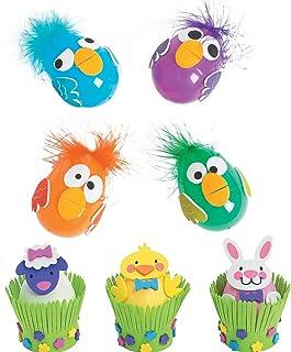 Best Easter Egg Decorating Crafts Kits - Including Crazy Bird Craft Kit (Make 12) and Easter Animal Craft Kit (Make 12) Review