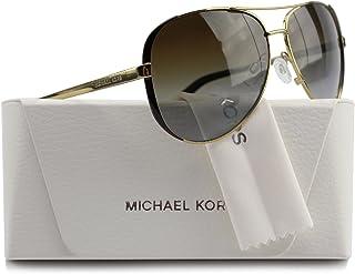 Michael Kors MK5004 Chelsea Aviator Polarized Sunglasses Gold w/Brown Gradient (1014/T5) MK 5004 1014T5 59mm Authentic
