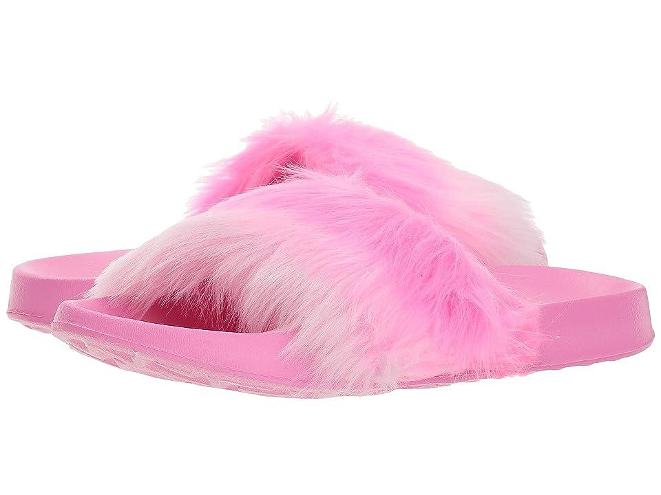 SKECHERS KIDS Sunny Slides 86921L (Little Kid/Big Kid) (Hot Pink) Girl
