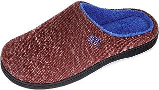 BCTEX COLL Women's Comfort Memory Foam Slippers,Ladies Two-Tone Non Slip Clog House Slippers