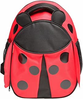 Kids Backpack - Side Mesh Pockets, Adjustable Straps - Red Balloon