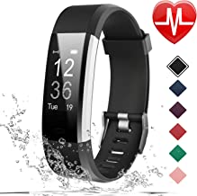 LETSCOM Fitness Tracker HR, Activity Tracker Watch with Heart Rate Monitor, IP67..