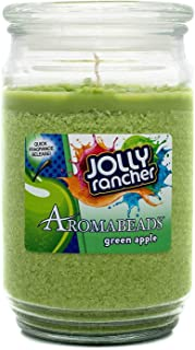 Jolly Rancher Green Apple Scented Aromabeads Canister Candle