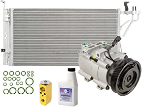 For Hyundai Sonata & Kia Optima AC Compressor w/A/C Condenser & Repair Kit - BuyAutoParts 60-82476R6 New