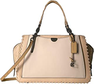 COACH Women`s Whipstitch Color Block Mixed Leather Dreamer 36