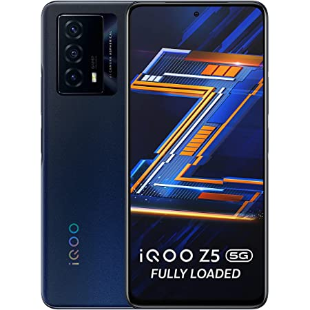iQOO Z5 5G (Mystic Space, 8GB RAM, 128GB Storage) | Snapdragon 778G 5G Processor | 5000mAh Battery | 44W FlashCharge | Rs.1000 Coupon Discount