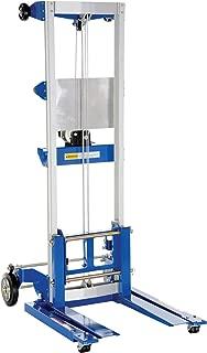 Vestil CYL-LT-1-HR Portable Cylinder Lifter with Hard Rubber 23-1//2 Depth Steel 17-5//8 Width 79-3//16 Height