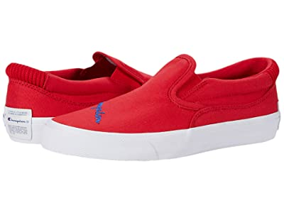 Champion Kids Fringe Slip-On (Big Kid) (Scarlet) Kid