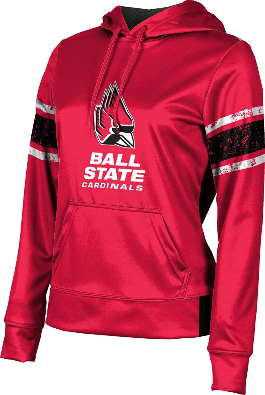 Ball State University Girls' Pullover Hoodie, School Spirit Sweatshirt (End Zone)