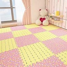 Guorrui, puzzelmat van schuim, vloermat 1,2 cm dik, tapijt voor de kinderkamer, antislip, kan naar wens worden gesneden, v...