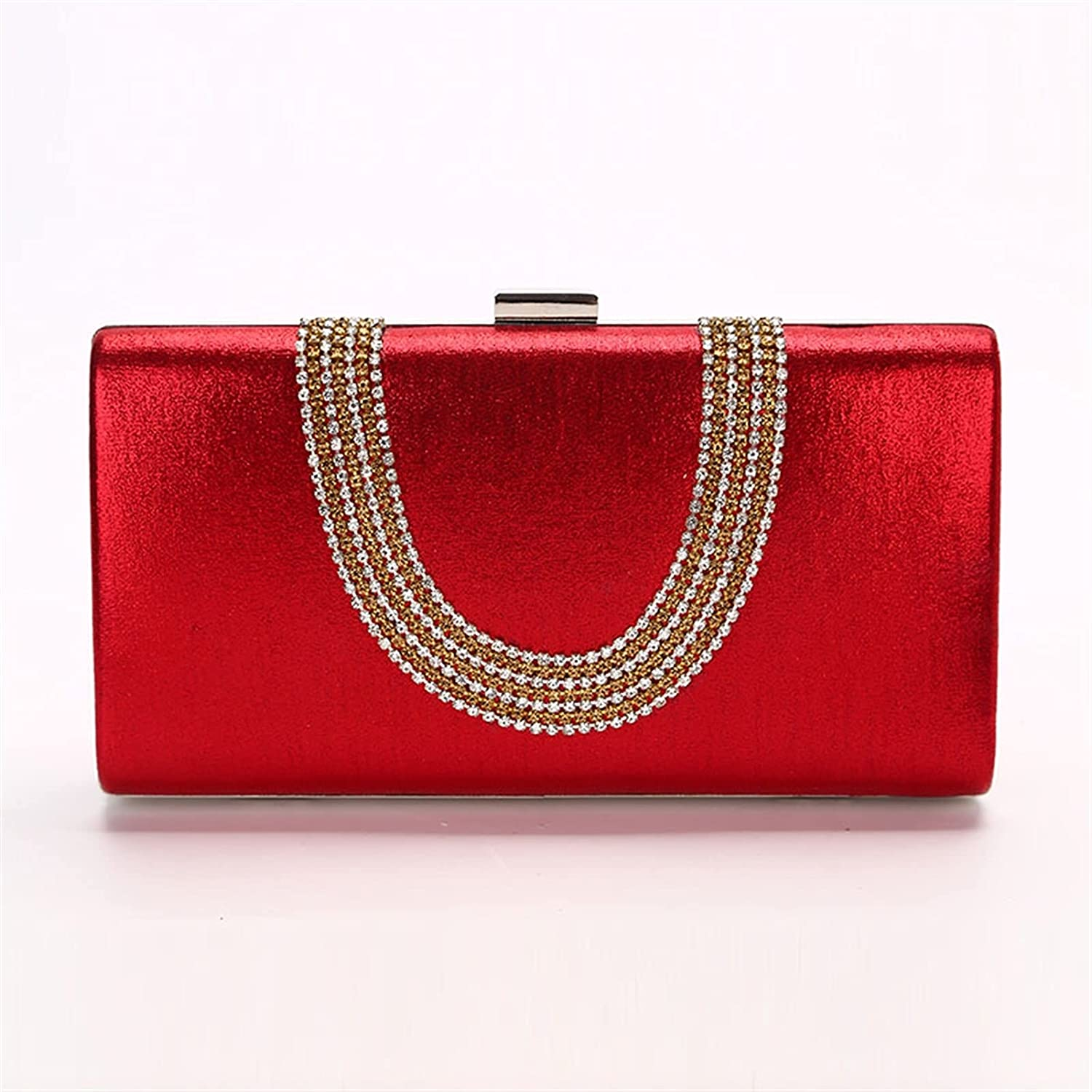 ATHH Crystal Sling Package Woman Clutch Bag,for Women Wedding Party Clutch Bags Highclass Evening Crystal Clutch Purse Prom Sac