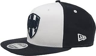New Era 9Fifty Hat Rayados De Monterrey Liga MX Official White/Navy Blue Snapback